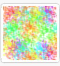 Colourful & Vibrant Design Sticker