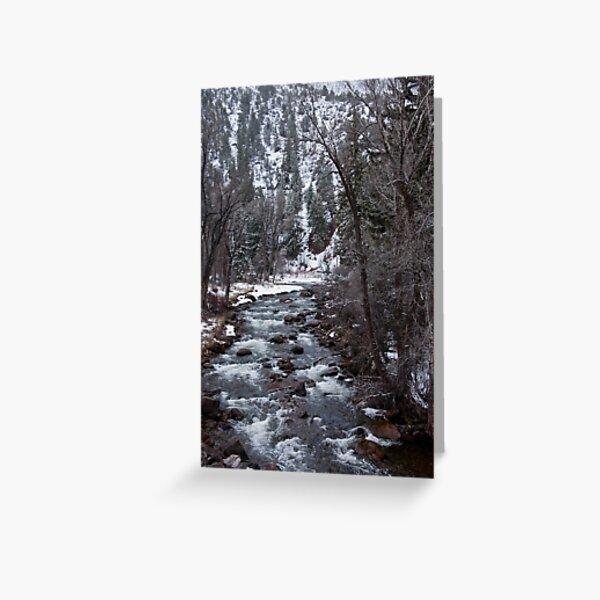 Frying Pan River Greeting Card