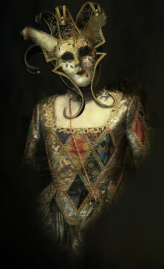 Dark Carnival, vintage mask fantasy by gameover