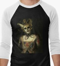Dark Carnival, vintage mask fantasy Men's Baseball ¾ T-Shirt