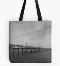 Pier on the Horizon Tote Bag