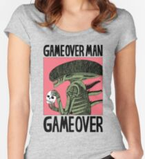 Game Over Man - Game Over Women's Fitted Scoop T-Shirt
