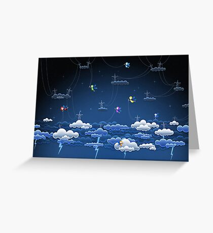 Lightnings Greeting Card