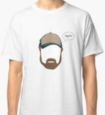 "Bobby Singer ""Idgits"" Classic T-Shirt"