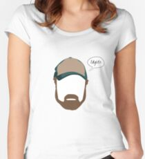 """Bobby Singer """"Idgits"""" Women's Fitted Scoop T-Shirt"""