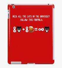 The Infinite Cat Solution iPad Case/Skin