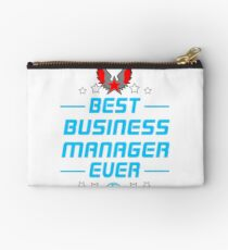 business manager - solve and travel design Studio Pouch