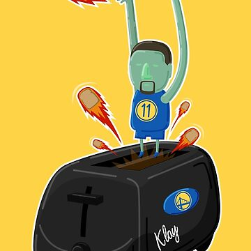Klay Toaster by mykowu
