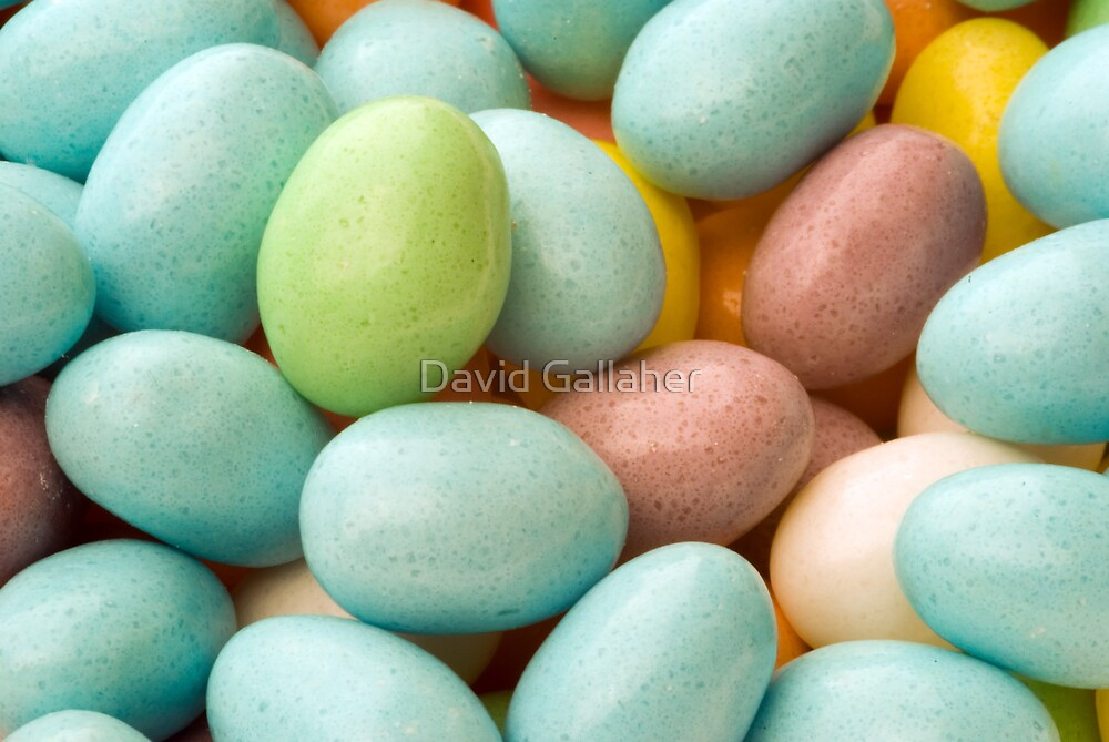 easter eggs by David Gallaher