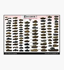 Panzers ! Photographic Print