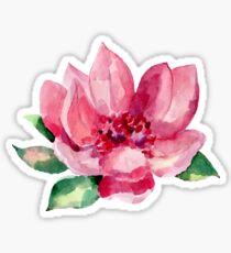 BEAUTIFUL ROSE PAINTED Sticker