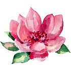 BEAUTIFUL ROSE PAINTED by casualforyou