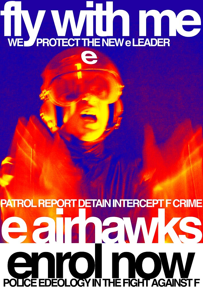 """e airhawks """"fly with me"""" poster by edeology"""