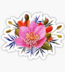 Beautiful Lily Flower Sticker
