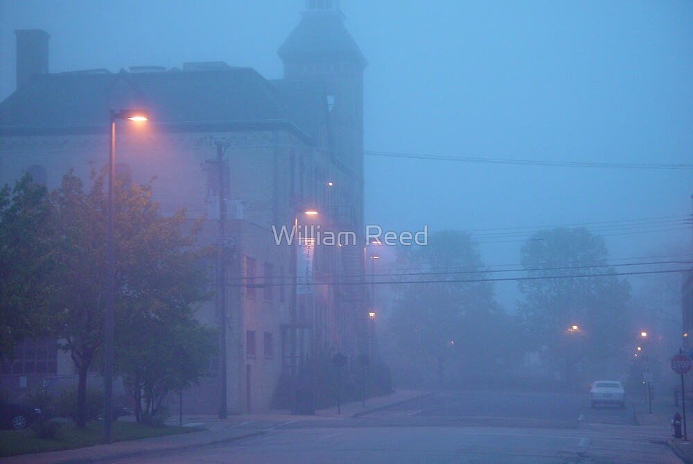 Foggy Morning at the Opera House by William Reed