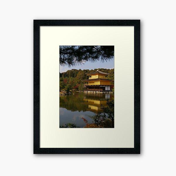 Golden Palace Framed Art Print