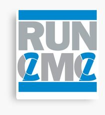 RUN CMC Canvas Print