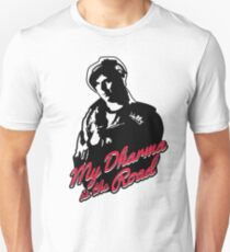 My Dharma is the Road Unisex T-Shirt