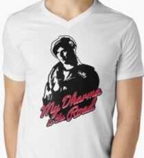 My Dharma is the Road Men's V-Neck T-Shirt