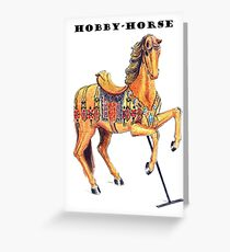 HOBBY-HORSE Greeting Card
