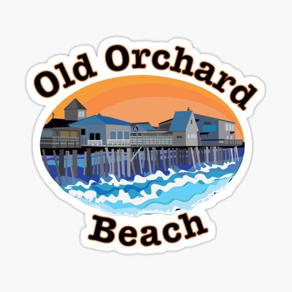 Old Orchard Beach Pier Sticker
