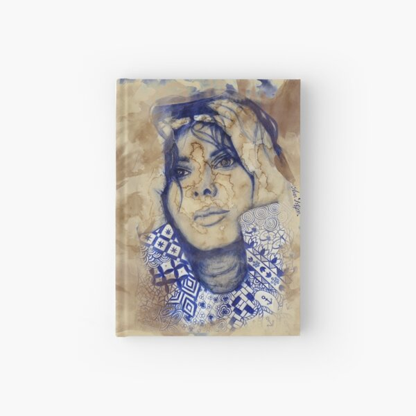 She is into Coffee Hardcover Journal