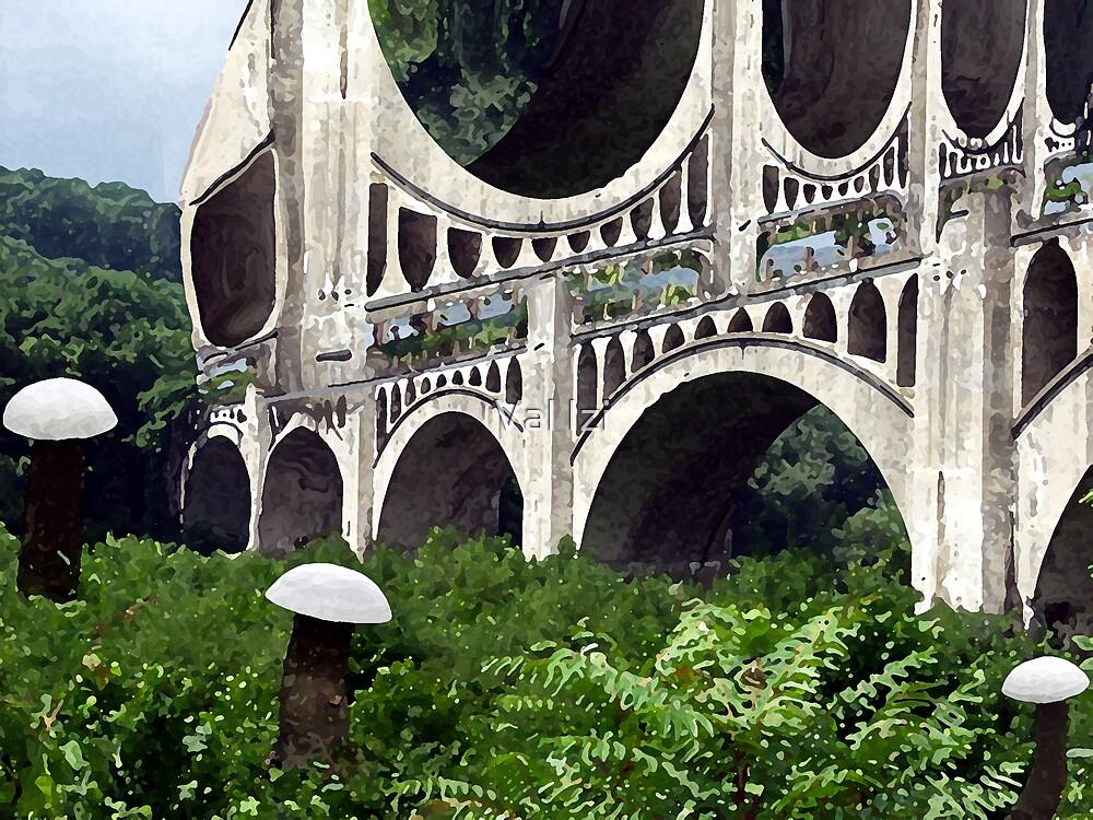 Neverland's bridge by valizi