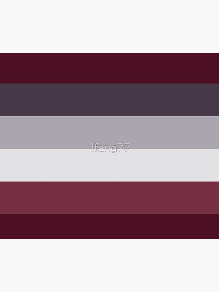 Trendy Winter Colors Ombre Grey Burgundy red plum stripes by lfang77