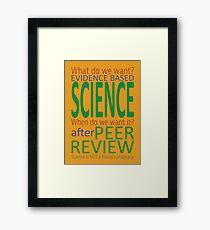 After Peer Review Framed Print
