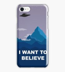 I WANT TO BELIEVE - PHONE CASE iPhone Case/Skin