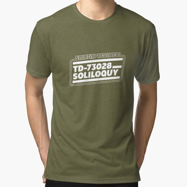 Squad Leader TD-73028 W-LOGO T-shirt chiné
