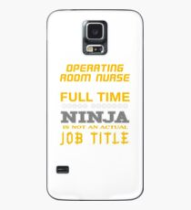 OPERATING ROOM NURSE - JOB TITLE SHIRT AND HOODIE Case/Skin for Samsung Galaxy