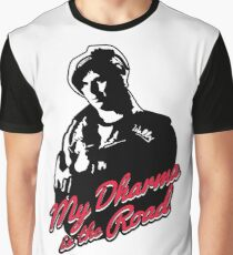 My Dharma is the Road Graphic T-Shirt