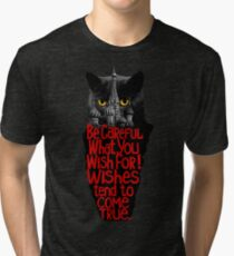 Behemoth the Cat (Master and Margarita) Tri-blend T-Shirt
