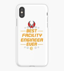FACILITY ENGINEER iPhone Case/Skin