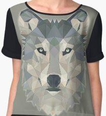T-shirt Wolf Women's Chiffon Top