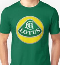 Lotus Auto Badge 00195 Unisex T-Shirt