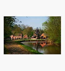 Blists Hill Canal Photographic Print
