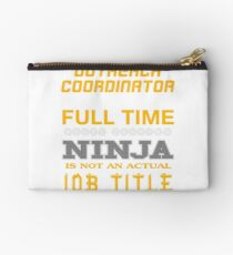 OUTREACH COORDINATOR - JOB TITLE SHIRT AND HOODIE Studio Pouch