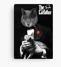 The Catfather Movie Parody Canvas Print