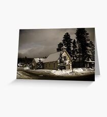 Winter Prayers Greeting Card