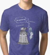 Illustrate Dalek Tri-blend T-Shirt