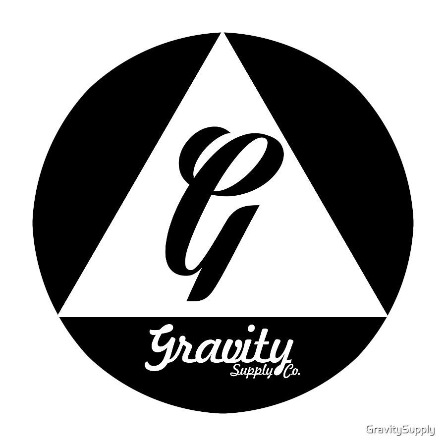 Gravity Round Badge by GravitySupply