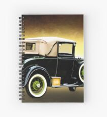 Vehicle Spiral Notebook