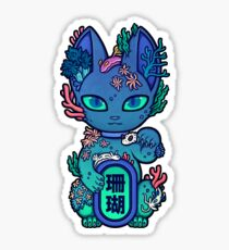 Wrong Neko: Coral Reef Sticker
