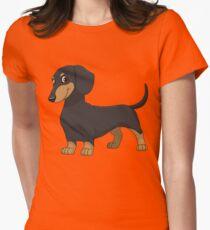 Dachshund T Shirt Women's Fitted T-Shirt