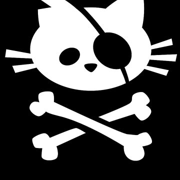 Pirate Cat: Skull and Crossbone by taylorsmith03