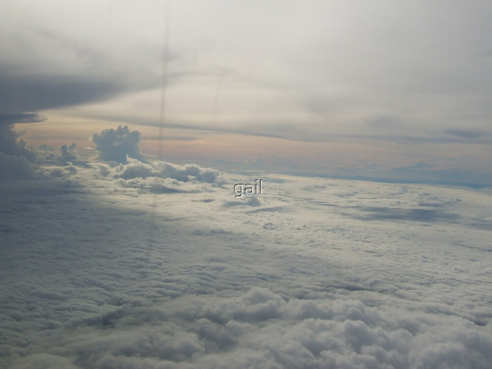 Above the clouds by gail
