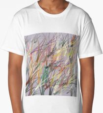 Random Pattern illustrator Long T-Shirt