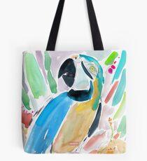 INDIGO DER MACAW Tote Bag